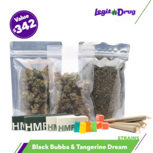 420 Super Flower Bundle – Tangerine Dream + Black Bubba